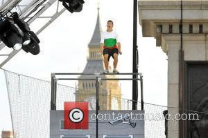 Participants Of The Barclaycard World Freerun Championship 2009 Held At Trafalgar Square
