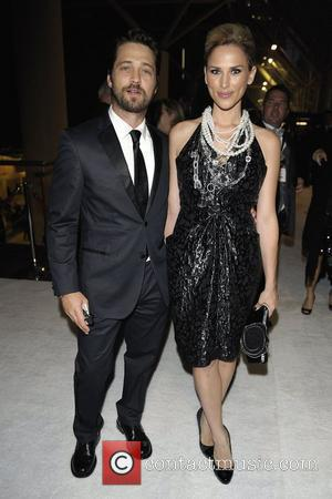 Jason Priestley and wife Naomi Lowde-Priestley Bell Gala 2009 in aid of the SickKids Foundation held at Metro Toronto Convention...