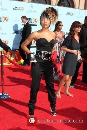 Lil' Mama 2009 BET Awards held at the Shrine Auditorium - Arrivals Los Angeles, California - 28.06.09