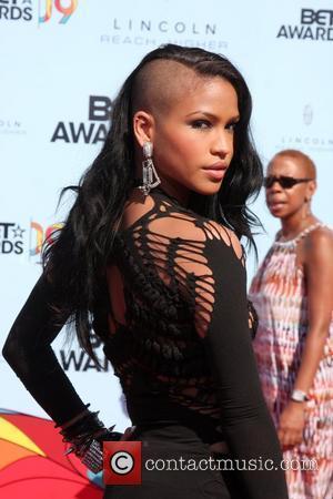 Cassie 2009 BET Awards held at the Shrine Auditorium - Arrivals Los Angeles, California - 28.06.09