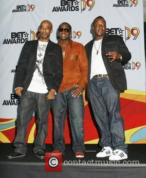Ralph Tresvant, Johnny Gill, and Bobby Brown of New Edition  2009 BET Awards held at the Shrine Auditorium -...