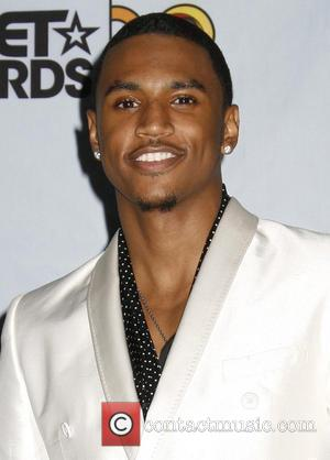 Trey Songz 2009 BET Awards held at the Shrine Auditorium - Press Room Los Angeles, California - 28.06.09