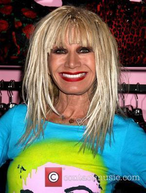Fashion Designer Betsey Johnson makes an appearance to meet and greet fans at the Miracle Mile Shops Las Vegas, Nevada...