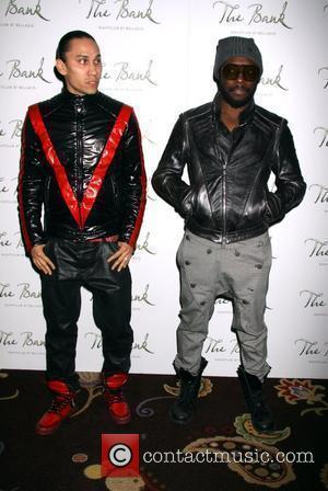 Taboo, Will.i.am Fergie and The Black Eyed Peas official after party at The Bank nightclub inside the Bellagio Resort Hotel...