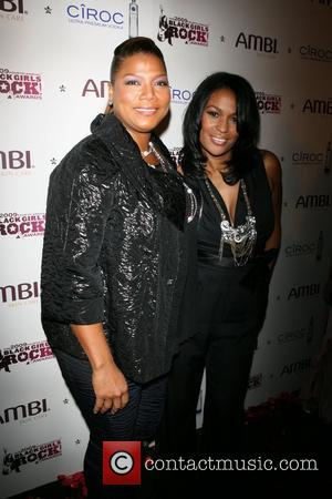 Queen Latifah and Dj Beverly Bond