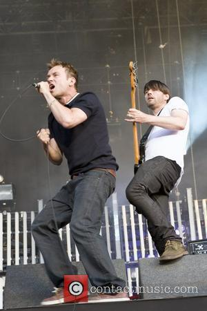 Damon Albarn and Alex James