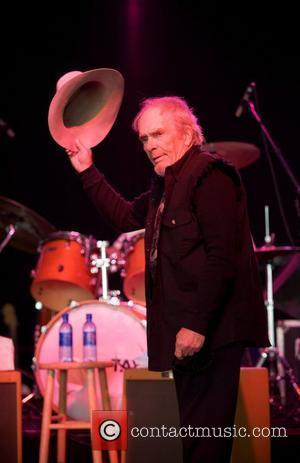Recovering Merle Haggard Returns Home