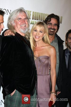 Billy Connolly and Julie Benz