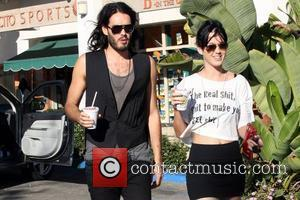 Russell Brand and Katie Perry