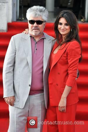 Pedro Almodovar and Penelope Cruz