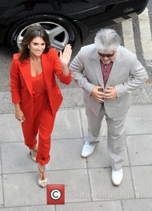 Penelope Cruz and Pedro Almodovar