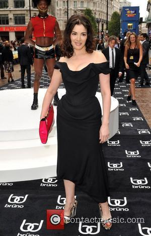 Nigella Lawson UK film premiere of 'Bruno' held at the Empire Leicester Square London, England - 17.06.09