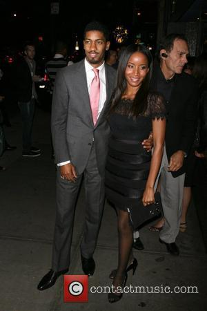 Fonzworth Bentley and Fon Chambers New York premiere of 'The Burning Plain' at The Landmark Theatre - Arrivals New York...