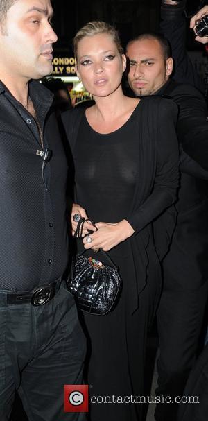 Kate Moss and Cafe De Paris