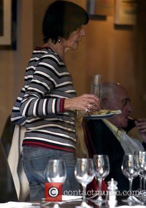June Brown and John Bardon have lunch at Cafe Koha London, England - 28.10.09