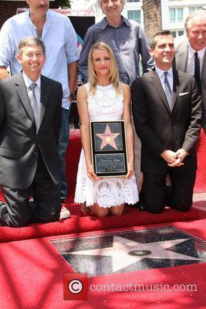 Cameron Diaz, Star On The Hollywood Walk Of Fame and Walk Of Fame