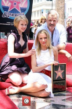 Sofia Vassilieva, Cameron Diaz, Star On The Hollywood Walk Of Fame and Walk Of Fame