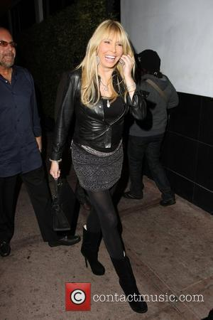 Lisa Gastineau outside Beso Restaurant in Hollywood for her daughter's birthday Los Angeles, California - 06.11.09
