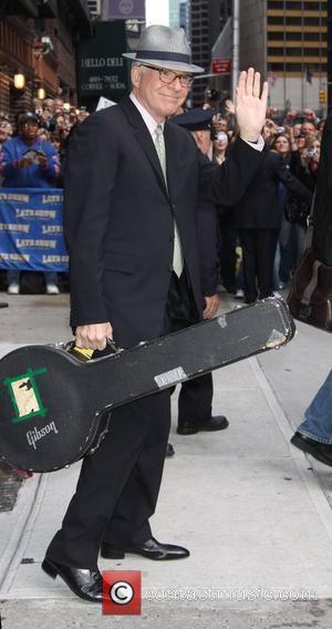 Steve Martin, David Letterman