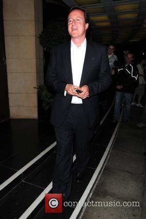 David Cameron and Dorchester Hotel