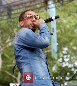 Ryan Leslie Performing At Central Park Summerstage