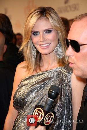 Heidi Klum and Cfda Fashion Awards