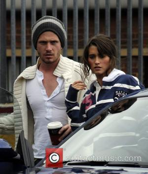 Charley Webb and Matthew Wolfenden The cast of 'Emmerdale' outside the Yorkshire Television Studios Leeds, England - 10.08.09