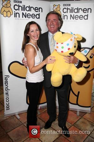 Sharon Corr and Sir Terry Wogan  Album launch of 'Bandaged Together' in aid of Children in Need London, England...