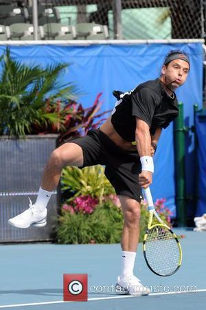 Gavin Rossdale  The Chris Evert/Raymond James Pro-Celebrity Tennis Classic Pro-Am at the Delray Beach Tennis Center  Delray Beach,...