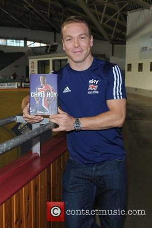 Chris Hoy signs copies of his autobiography 'Chris Hoy: The Autobiography' at Manchester Velodrome Manchester, England - 07.10.09
