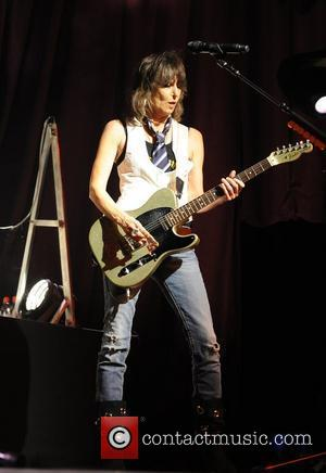 Chrissie Hynde performs with The Pretenders at the Electric Factory Philadelphia, USA - 13.08.09