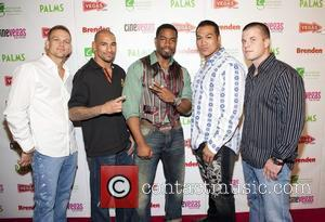 Michael Jai White and the cast from the fight scenes