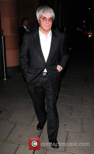 Bernie Ecclestone leaving at Cipriani's in Mayfair London, England - 14.10.09