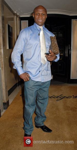 Chris Eubank leaving Claridges hotel London, England - 02.11.09