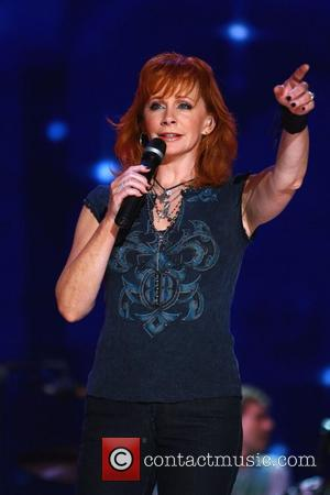 Reba McEntire performing live at LP Field as part of the CMA Music Festival 2009 Nashville, Tennessee - 11.06.09