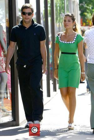 Joe Cole and Carly Zucker  out and about following their wedding last weekend London, England - 23.06.09