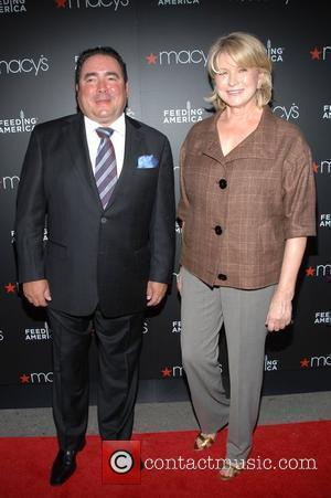 Emerial Lagasse and Martha Stewart