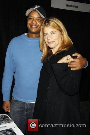 Todd Bridges and Linda Hamilton