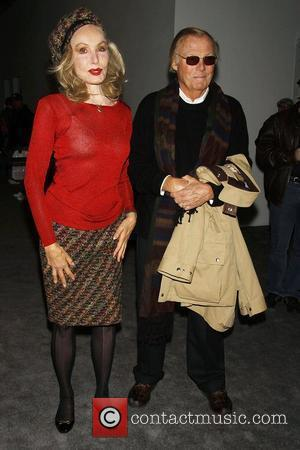 Julie Newmar and Adam West