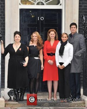Ruth Jones, Kimberly Walsh, Sarah Brown, Jessica Ennis, Vernon Kay Cosmopolitan Women Of The Year - Downing Street reception....