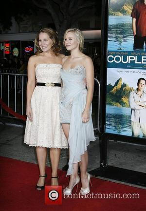Kristen Bell and Dana Fox