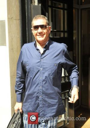 Dale Winton outside the BBC Radio One studios London, England - 13.08.09
