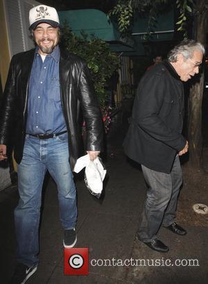 Edward James Olmos and Benicio Del Toro