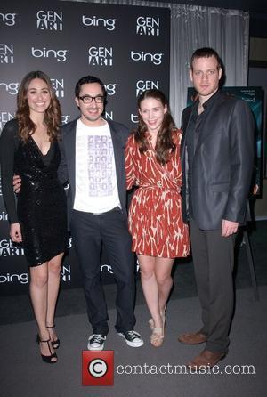 Emmy Rossum, David Brind, Rooney Mara & Adam Salky Los Angeles Premiere of 'DARE' at the Pacific Design Center -...