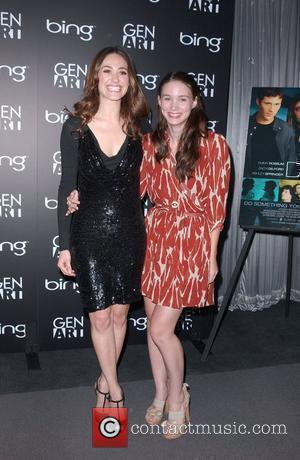 Emmy Rossum and Rooney Mara