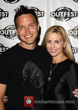 Mark Hoppus and wife Skye Hoppus The 27th Annual Los Angeles Gay & Lesbian Film Festival 2009 - Outfest Closing...