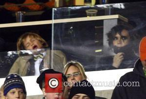 Victoria Beckham, David Beckham and La Galaxy