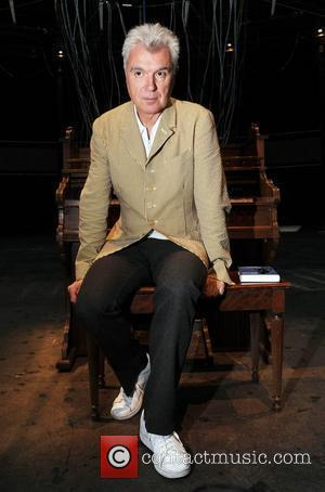 David Byrne unveils the installation 'Playing the Building' at Camden Roundhouse London, England - 07.08.09