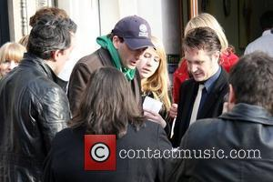 David Tennant  leaving Absolute Radio after co-presenting the breakfast show London, England - 11.11.09
