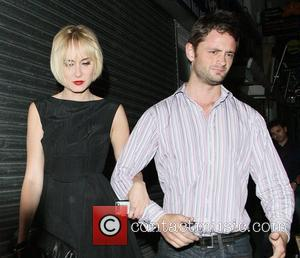 Kimberly Stewart and David Walliams